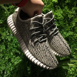 Wholesale Best Online Shopping - Shop online best 350 Boost at discount price, Updated Boost 350 Kanye West Sneakers Shoes with Box Turtle Dove,Pirate Black & V1