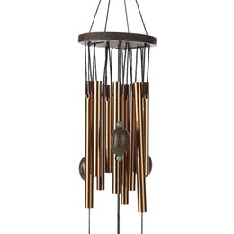 Wholesale Garden Decoration Metal - 62 cm Antirust Copper Wind Chimes Lovely Outdoor Living Yard Garden Decorations Birthday Gifts to Friends and Best Wishes