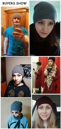 Wholesale Knitted Hats China - Fashion Snow Skullies Beanies hot on sale cheap from china Winter Hat For Women Girls Hat Knitted Hat Beanies Pom Poms Knitted Cap Man Cap