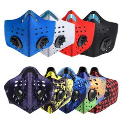 Wholesale Bike Dust Mask - Half Face Mask Bike Bicycle Sports Cycling Masks Anti-Dust Outdoor Sports Mask Filter Air Pollutant for Bicycle Riding
