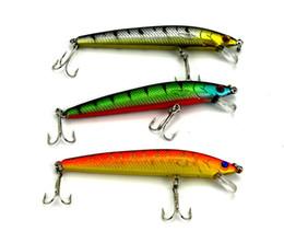 Wholesale Catfish Lures - New 3D Crank Fishing Lures 5colors 6#hooks Pencil Catfish wobble fishing swimbaits 9.5cm 8.5g minnow plastic hard Bait