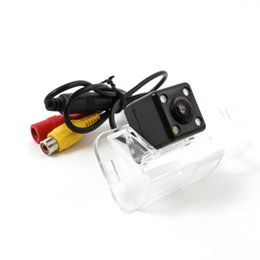 Wholesale Es Led - CCD Track Line Car Rear View Camera For Lexus ES-350 ES-240 06 10 12 Parking Assistance Camera Night Vision LED Light Waterproof KF-V1188L