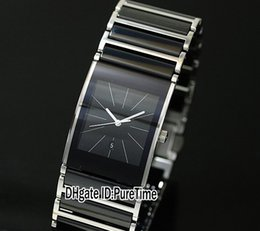 Wholesale Cheap Womens Gold Watches - Super Clone R21348202 Black Ceramic Swiss Quartz Womens Ladies Watch PureTime Special Offers Watches Sale Cheap Discounted 5 Colors Styles
