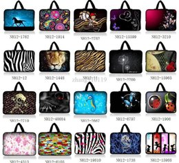 "Wholesale Neoprene Netbook Bag Sleeve - 44.6"" 47"" 47.4"" Laptop Netbook Sleeve Bag Case Cover Pouch Holder+Handle"