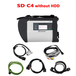 Wholesale Pcb Hdd - Full Chip PCB MB Star C4 support Multi-Languages without Hdd with WIFI for cars and trucks DHL free