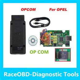 Wholesale Obd Interface Cable - 2017 newest version opcom op com diagnostic interface obd opcom code reader opel auto diagostic tool super scanner