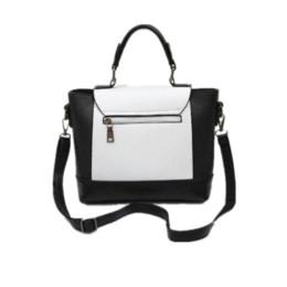 Wholesale Block Handbags Vintage - Vintage women handbag casual shoulder bag ladies fashion messenger bag female portable color block small bags bolsa feminina