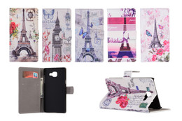 Wholesale Tower Case Stand - Tower Wallet Leather Pouch Case For Samsung Galaxy S7 G930 G9300 S7edge A310 A510 Flip Stand Cards Slot