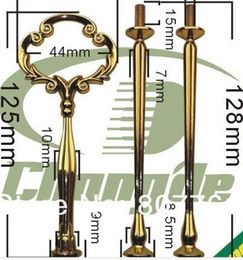 Wholesale Tier Handles - New arrive 1 piece Cake Stand Fittings 3 Tier Cake Stands Centre Handle christmas gift