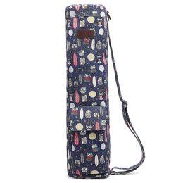 Stuoia Yoga Bag Full Zip Fitness Yoga Stuoia Borsa con tela resistente, doppia cerniera, tasche di memorizzazione multi-funzionale, cinghia regolabile da