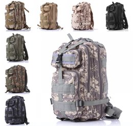 Wholesale Tactical Rucksacks - 10 Color Military Rucksacks Tactical Backpack 40L 3P Outdoor Packable Camping Hiking Trekking Bag Free Shipping E593E