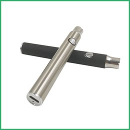 new vaporizer battery variable Promo Codes - New arrival variable voltage open vaporizer battery pre heat vaporizer smoking device 510 oil vaporizer pen Adjustable Bud touch battery
