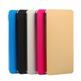 Wholesale Thin Cell Phones For Sale - factory sale power bank charger 12000 mAh with super thin metal outshell portable external battery for cell phones Apple, xiaomi, sumsung et