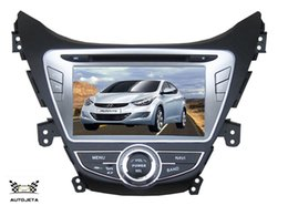 Wholesale Mobile Hyundai - 4UI intereface combined in one system CAR DVD PLAYER FOR Elantra Avante I35 2011 2012 2013 Bluetooth GPS NAVI RADIO stereo map