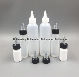 Wholesale Empty Plastic Water Bottles - Trade assurance Wholesales plastic e cig liquid dropper bottles 60ml twist cap empty ldpe bottles for essential oil and glue water