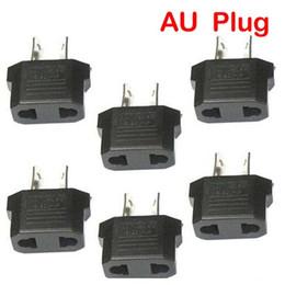 Wholesale Eu Australia Power - US EU Adapter Plug To AU AUS Australia Travel Power Plug Convertor Free Shipping