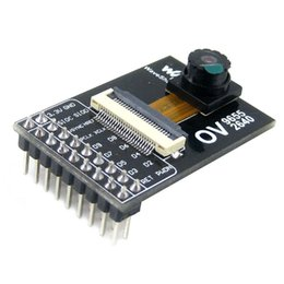 Wholesale Voltage Regulator For Pc - OV2640 Camera Module Acquisition Module 2million pixels 3.3V for DIY cell and camera phones toys PC multimedia