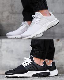 Wholesale Women Shoes Size Cheap - 2015 Air Presto BR QS Breathe Classical Black White Running Shoes for Men&Women,Cheap Original Air Presto Sport Shoe Hot Sale Size Eur 36-45