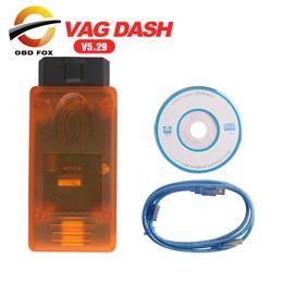Wholesale Vag Dash Can - 2017 Newest Version V5.29 VAG DASH CAN V5.29 auto diagnostic tool vag dash 5.29 free shipping