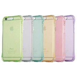 Wholesale Iphone 5s Back Light - Transparent Luminous Called Sense LED Flash Light Clear TPU Soft Back Case 360 degree protection For iphone 5s 6 6s plus s6 s7 s7edge