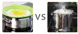 Wholesale Cover Pots - Candy Color Kitchen Gadgets Silicone Pan Cover Lid Spill Stopper   Pot Cover 28.5cm Diameter Cooking Pot Lids Utensil