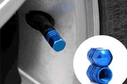 tampas de carro de alumínio Desconto Novo 12 pcs Theftproof Alumínio Pneu Da Roda de Carro Válvulas Pneus Stem Air Caps Tampa Airtight