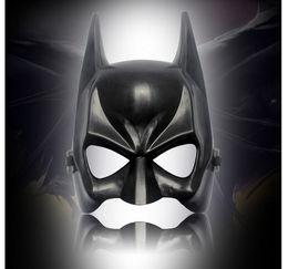 Wholesale Batman Adult Costume Accessories - Dark Knight Rises Halloween Batman Mask Adult Masquerade Party Bat Man Face C012