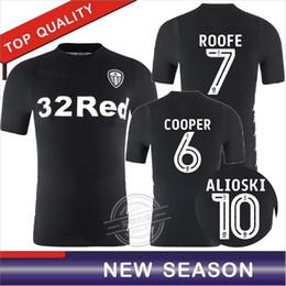 Wholesale New England Football Jersey - New season 1718 Leeds United soccer jerseys thai quality away shirts 17 18 England champion shirts SAIZ ROOFE football shirts