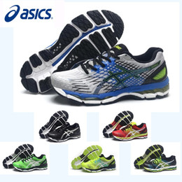 Wholesale Orange Color Shoe - Asics Nimbus17 Running Shoes For Men ,New Color High Quality Non-Slip Discount Sneakers Sports Shoes Eur 36-45 Free Shipping