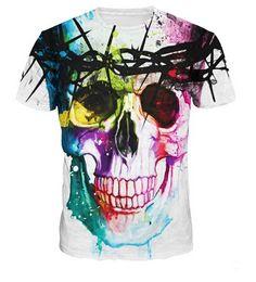 Wholesale Woman Abstract Shirts - New Fashion Thinker Printing Abstract t-shirt Unisex Women Men Casual 3d t shirt for men women Harajuku Tee Shirt