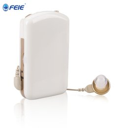Wholesale Hearing Aid Pocket - FEIE Built-in Sounder Analog Pocket Model Hearing Aid Amplifier S-7A