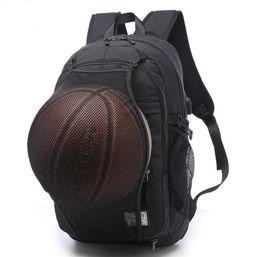 Wholesale Canvas Tablet Bag - High Quality MEN'S Backpacks Oxford Backpack Bag USB Charge 15 Inch Laptop Mochila Waterproof Travel Back Package for basketball