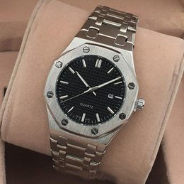 Wholesale Hot Mens Gifts - Hot Sale Top Brand Luxury Mens Watches Stainless Steel Quartz Wristwatches Relogies for Men Relojes Relogio Montre Zeland Watches Best Gift