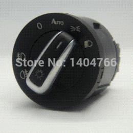 Wholesale Vw Passat Headlights - Free shipping!mirror switch headlight switch window switch for Volkswagen VW jetta mk5 golf 5 6 tiguan passat b6 CC 6PCS SET