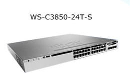 Wholesale Gigabit Switch Sfp - High quality server switches for Cisco WS-C3850-24T-S VLAN Switch 10 Gigabit Network layer 3 SFP Switches