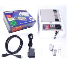Wholesale Wholesalers Game Console System - HD HDMI Out Retro Classic Game TV Video Handheld Console Entertainment System Built-in 500 Classic Games For NES Mini Game PAL&NTSC