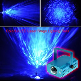 Wholesale Disco Ball Rings - Free DHL LED Water Ripples Light LED Laser Stage Lighting Colorful Wave Ripple Shining Effect Disco Light for Christmas Disco Concert Balls