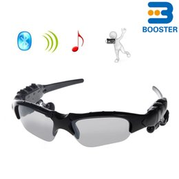 Wholesale Play Sun - Bluetooth Sunglass Headphones Earphone Smart Sun Glass Support Play Music Mini Portable for Cellphone iPhone Samsung