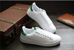 Wholesale Zapatos Clear Shoes - 2016 Hot Fashion Stan Shoes Smith Sneakers Casual Leather Men or Women Sport Shoes Running Shoes Sneakers Zapatos Mujer #002