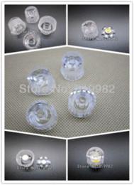 Lente led de 15 grados online-50 piezas / lote, lente LED de 15 grados, lentes impermeables de PMMA con soporte de soporte de lente fijados juntos, lente de alta calidad LED, envío gratis