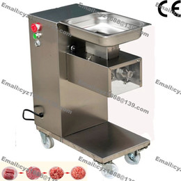 Wholesale Restaurant Machines - Free Shipping 500KG H 2.5mm-25mm Customized Blade 110v 220v Electric Heavy Duty Restaurant Meat Dicer Dicing Machine