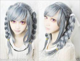 Wholesale Dangan Ronpa Cosplay Wig - Free Shipping>>Cosplay wig Danganronpa Dangan-Ronpa Peko Pekoyama Beautiful Hair Fashion wig