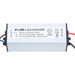 2019 adaptateur secteur 12v 4a L'adaptateur à CA / CC de consommation de puissance élevée durable 50W 1.5A a mené l'alimentation d'énergie de transformateurs d'éclairage du conducteur 20-39V pour l'ampoule légère de lampe