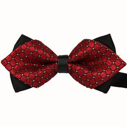 Wholesale Commercial Ties - New 2016 Formal Commercial Bow Tie Fashion Men Bow Ties For Boys Accessories Cravat Bowtie 10pcs lot