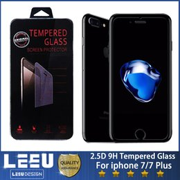 Wholesale Phone Films - 0.3mm Tempered Glass Cell Phone Screen Protectors Film 2.5D 9H with packing for iphone x 7 8 6 plus a8 2018 a3 a5 a7 j3 5 7 2017 euro j530