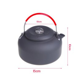 Wholesale Outdoor Coffee Pot - NEW ARRIVED 1.4L Alocs Aluminum CW-K03 Outdoor Kettle Camping Picnic Water Teapot Coffee Pot