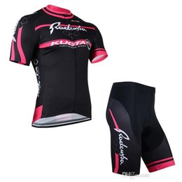 Wholesale Kuota Cycle Jersey - Womens Short Cycling Suit Moisture-wicking Black Red Short Sleeve Cycling Jersey Sets Radenska Kuota Ropa Ciclismo Bicycle Clothing for Girl