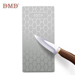 Coltelli professionali online-DMD Professional Angle Diamond Knife Sharpener 400 Grit / 1000 Grit Whetstone Utensile per affilare i coltelli da cucina B
