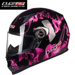 Wholesale Casco Ls2 - New Helmet LS2 FF358 Full Face Motorcycle Helmet Urban Racing Motorbikes Helmets Capacetes Motociclismo Casque Casco Moto ECE