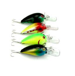 Wholesale freshwater fish bass - HENGJIA 20pcs Fishing Lure Crankbaits Bass Plastic Fishing Lures 7.3CM 10.1G 6#hooks (CB014) crank bait minnow trout bass Bait